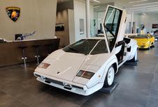 Lamborghini Brussels organiseert Mitica Mostra Vintage V12's Exhibition