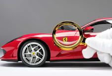 Ferrari biedt je schaalmodel van je eigen wagen aan