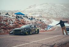 Bentley a testé du biocarburant en compétition