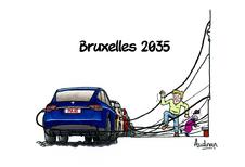 La story d'Audran - Bruxelles et l'automobile en 2035