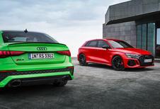 De Audi RS3 2021  toont zich in volle glorie