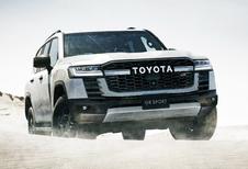 Nieuwe Toyota Land Cruiser als sportieve GR Sport