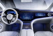 Mercedes EQS, les prix pour la Belgique connus