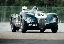 Des tours en ancêtres Jaguar à Zolder #1