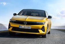 Opel Astra, l'électrique et le break pour bientôt