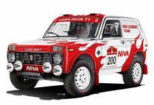 Lada Niva als Legend naar 2022 Dakar