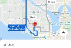 Google Maps : Économiser du CO2 en naviguant