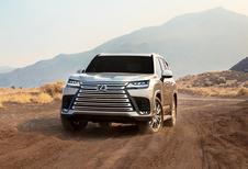 Lexus LX : Toyota Land Cruiser en tenue de soirée