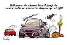Audrans verhaal - Honda bereidt een nieuwe Civic Type R voor