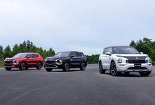 Le Mitsubishi Outlander PHEV 2022 a le mal du pays