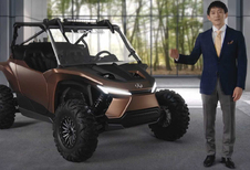 Lexus maakt buggy met waterstofverbrandingsmotor