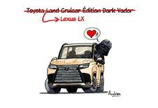 La story d'Audran - Lexus LX, le Land Cruiser