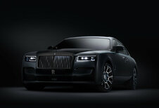 Rolls-Royce Ghost, aussi en Black Badge