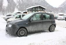 Facelift Fiat Panda wordt voorbereid