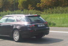 Saab 9-5 Estate surprise sur l'A12