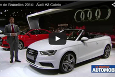 Vidéo salon : Audi A3 Cabrio