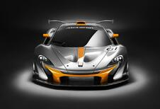 McLaren P1 GTR Concept pour gentlemen drivers