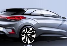 Hyundai i20 Coupé en vue