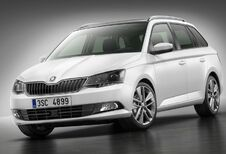Skoda Fabia Combi, 10 mm plus long