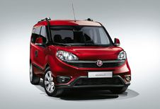Salon auto Bruxelles 2015 : Fiat Dobló, en multiples versions