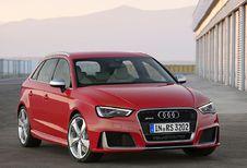 Audi RS3 Sportback avec un 5-cylindres vitaminé