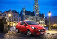 Salon auto Bruxelles 2015 : Opel Corsavan en 1re mondiale