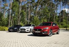 Trois berlines «à conduire» : Ford Focus, Honda Civic et Seat Leon