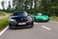 BMW M2 CS vs Porsche 718 Boxster GTS : Bulle de plaisir!