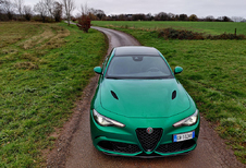 Alfa Romeo Giulia Quadrifoglio - The Incredible Hulk