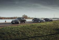 Vergelijkende test AUDI A8 50 TDI // BMW 730D // MERCEDES S 350 D (2021)