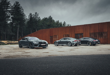 Vergelijkende test AUDI RS 7 SPORTBACK // BMW M8 GRAN COUPE COMPETITION // MERCEDES-AMG  GT 4-DOOR COUPE 63 S (2021)