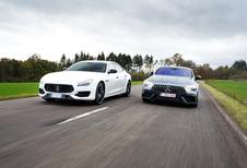 Maserati Quattroporte S Q4 vs Mercedes-AMG GT 4-Door Coupé 53
