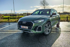 Audi Q5 40 TDI - steady as she goes