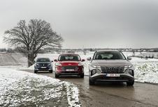 Hyundai Tucson vs. Ford Kuga en Peugeot 3008