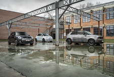 Vergelijkende test FIAT 500e // HONDA e // MINI ELECTRIC (2021)