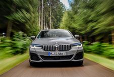 BMW 545e xDrive PHEV (2021)