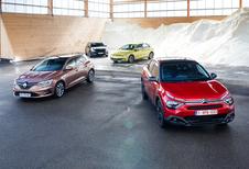 Citroën C4 versus Ford Focus, Renault Mégane en VW Golf