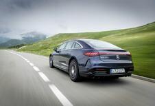 Mercedes EQS 450+ : 780 km d'autonomie électrique
