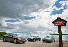 Audi A6 2.0 TDI, BMW 520d & Mercedes E 220 CDI : Duits onderonsje
