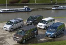 Hyundai H-1 People 2.5 CRDi, Mercedes Viano 2.2 CDI, Peugeot Expert 2.0 HDi, Renault Traffic 2.0 dCi & VW Multivan 2.0 TDI : 5 Combinards