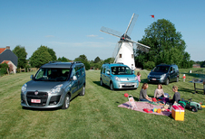 Citroën Berlingo 1.6 HDi 110, Fiat Doblo 1.6 MultiJet 110 & Renault Kangoo 1.5 dCi 105 : Les chouchous des familles