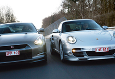 Nissan GT-R & Porsche 911 Turbo : Lords of the ring