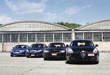 Audi A3 Sportback 1.6 TDI, Lancia Delta 1.6 MJET, BMW 116d et Alfa Giulietta 1.6 JTDM : Vendetta