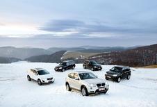 Mercedes GLK 220 CDI 4Matic, Volvo XC60 D3, Audi Q5 2.0 TDI 170, Land Rover Freelander TD4 et BMW X3 20d xDrive : La nouvelle classe moyenne