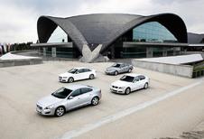 Audi A4 2.0 TDI 120, BMW 3-Reeks 316d, Mercedes C-Klasse 180 CDI en Volvo S60 DRIVe : Toegangsticket