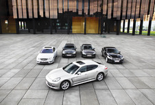 Audi A8 3.0 TDI Quattro, BMW 730d, Jaguar XJ 3.0D, Mercedes S 350 BlueTec et Porsche Panamera Diesel : Le CO2 des CEO
