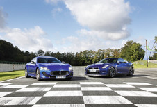 Maserati Granturismo MC Stradale vs Nissan GT-R : Bleu pétrole