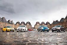 Kia Rio 1.4, Mazda 2 1.5, Nissan Micra 1.2DIG-S, Opel Corsa 1.4, Toyota Yaris 1.3 et Volkswagen Polo 1.4 : Des petites de caractère