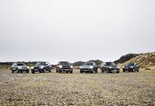 Volkswagen Touareg 3.0 V6 TDI 204, Porsche Cayenne Diesel 211, Range Rover Sport TDV6 211, Jeep Grand Cherokee 3.0 CRD 190, BMW X5 30d 211 en Mercedes ML 250 BlueTec : Less is more?