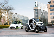 Renault Twizy vs Smart Fortwo Electric Drive: In the city be smart or take it twizy